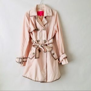 Betsy Johnson Trench Coat with Corset